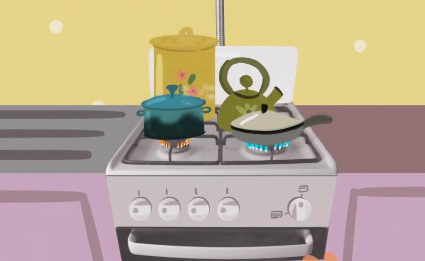 Картинки об использовании газа в быту
